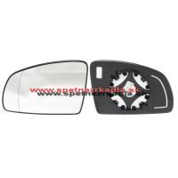 Spätné zrkadlo Opel Meriva A - Ľavé sklo zrkadla s pl. držiakom, asferické