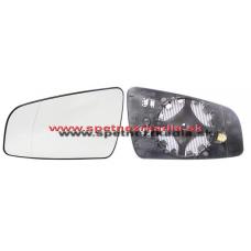 Spätné Zrkadlo Opel Zafira B - Spätné zrkadlo Opel Zafira B - Ľavé sklo zrkadla s pl. držiakom, vyhrievané, asferické - A6411441