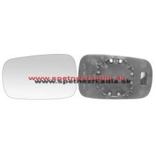 Spätné Zrkadlo Renault Laguna Combi II. - Ľavé sklo zrkadla s pl. držiakom, asferické - 04/05 - A6451229