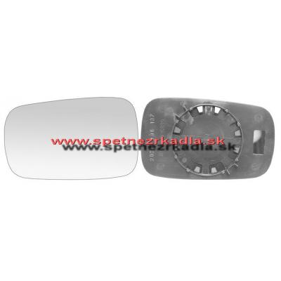 Spätné zrkadlo Renault Laguna - Ľavé sklo zrkadla s pl. držiakom, asferické