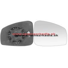 Spätné Zrkadlo Renault Laguna III. - Ľavé sklo zrkadla s pl. držiakom - A6451231