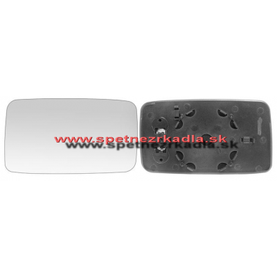 Spätné zrkadlo Seat Cordoba - Ľavé sklo zrkadla s pl. držiakom