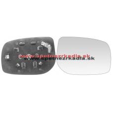 Spätné Zrkadlo Toyota Yaris II. - Ľavé sklo zrkadla s pl. držiakom, konvexné - A6401267
