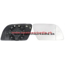 Spätné Zrkadlo Volkswagen Polo III. - Ľavé sklo zrkadla s pl. držiakom, asferické - A6451110