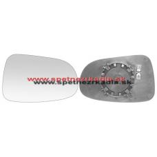 Spätné Zrkadlo Volkswagen Sharan I. - Ľavé sklo zrkadla s pl. držiakom, vyhrievané, asferické - A6431130