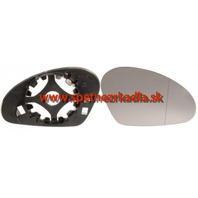 Spätné zrkadlo Seat Toledo - Ľavé sklo zrkadla s pl. držiakom, asferické