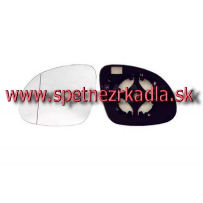 Spätné zrkadlo Škoda Yeti - Ľavé sklo zrkadla